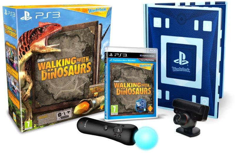 Wonderbook Walking with Dinosaurs Starter Pack (Magyar szinkronnal)