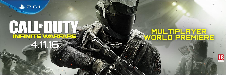 /></p> <p>A Call of Duty Infinite Warfare, mint a népszerű FPS-sorozat legújabb tagja ezúttal a távoli jövőbe repít el minket, ahol Reyes kapitány oldalán egy speciális egység irányítójaként azt a feladatot kapjuk, hogy űrhajónkba pattanva utazzuk be az egész Naprendszert, és akadályozzuk meg a radikális SDF által az emberiség ellen elkövetett akciókat, miközben likvidáljuk a terroristaszervezet mozgatórugóit is.</p> <p>A játék a korábbi részekből megszokott intenzív és mozifilmszerű élményeket garantál, de a szárazföldi bevetések mellett már izgalmas űrharcokat is átélhetünk benne. Az izgalmas kampány mellett a Call of Duty Infinite Warfare természetesen ezúttal is tartalmaz majd többjátékos módot, így a zombis kooperatív élményeken túl hagyományos multiplayer ütközetek is várnak majd ránk, méghozzá rengeteg újdonsággal és elragadó külcsínnel a középpontban.</p> <p><iframe width=