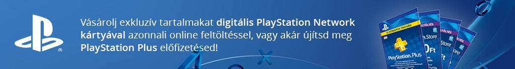 PlayStation Network digitális feltöltés