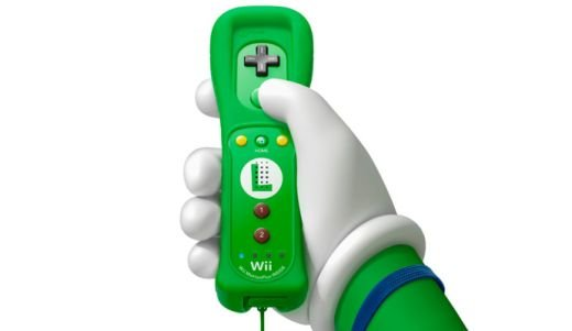 Wii Remote Plus Luigi Limited Edition (Zöld)