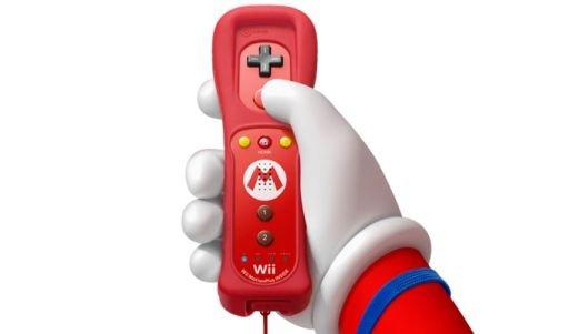 Wii Remote Plus Mario Limited Edition (Piros)