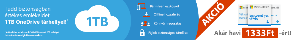 Kedvezményes Microsoft 365