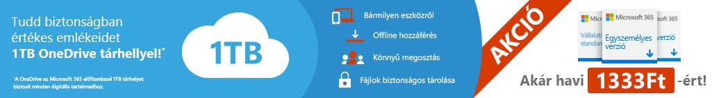 Kedvezményes Microsoft 365