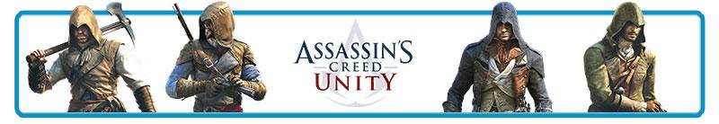 /></h2> <h2>Assassin's Creed Unity ismertető</h2> <p>Az Assassin?s Creed-sorozat legújabb epizódjában<span></span><strong>a francia forradalom időszakában</strong>, a nagy eseményeknek otthont adó korabeli Párizsban kalandozhatunk, ahol Arno Victor Dorian oldalán egy újabb szegletét ismerhetjük meg az Asszaszinok és a Templomosok évszázadok óta tartó háborújának. Az Assassin?s Creed Unity a játékmenet tekintetében szinte mit sem változott a korábbi részekhez képest, így ismét egy óriási játéktér ? maga a francia főváros, méghozzá olyan nevezetességekkel, mint a Notre-Dame ? vár minket a rengeteg intenzív harc, a sok-sok lopakodás, valamint<span></span><strong>a rendkívül izgalmas és fordulatos történet mellett</strong>, méghozzá számtalan szabadon választható feladat társaságában.</p> <p>Az új korszaknak köszönhetően<span></span><strong>nemcsak a történet, hanem a karakterek hada is teljes egészében kicserélődött</strong>, ám az Orgyilkosok Krédójának oldalán ismét korabeli híres személyek segítenek minket abban, hogy bármilyen küldetést is vállalunk, azt sikeresen kivitelezhessük. Főhősünket egyébiránt a sorozat történetében először nemcsak a mesterséges intelligencia által irányított segédek, hanem a négyszemélyes kooperatív módnak köszönhetően<span></span><strong>más játékosok is segíthetik</strong>, így akár barátaink oldalán is belecsaphatunk az izgalmas kalandokba, illetve a szó szerint elképesztő méretű játéktér felfedezésébe.</p> <p>Noha az<span></span><strong>Assassin?s Creed Unity</strong><span></span>az alapok tekintetében megmaradt a kitaposott ösvényen,<span></span><strong>újdonságok azért szép számmal érkeztek</strong><span></span>az új epizódba, így sokkal intenzívebbé és használhatóbbá vált a harcrendszer, a sorozat védjegyeként is megismert rejtett penge mellett pedig újdonságként a rejtett íjpuska könnyíti majd az összecsapásokat. Az új felszereléseinknek és képességeinknek köszönhetően a játékban ismét csak rajtunk múlik, hogy küldetéseinket csend