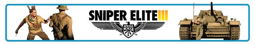 /></h2> <h2>Sniper Elite III (3) ismertető</h2> <p>Visszatér az egyik legismertebb<span></span><strong>mesterlövészkedős sorozat</strong>, melynek legújabb részében ismét puskánk távcsövén keresztül szemlélhetjük a második világháború eseményeit. A<span></span><strong>Sniper Elite 3</strong><span></span>az eddigieknél is komolyabb fordulatokat és<span></span><strong>izgalmasabb játékmenetet</strong><span></span>tartogat, így nem árt alaposan felkészülni, mielőtt nekivágnánk a kalandnak...</p> <p>A legjelentősebb változást talán az<span></span><strong>új helyszín</strong><span></span>jelenti, mely egyben új lehetőségek sokaságát is jelenti: ezúttal az<span></span><strong>afrikai hadszíntereken</strong><span></span>bizonyíthatjuk, hogy képesek vagyunk akár egy-egy golyóval is közelebb kerülni a világháború végéhez.</p> <p>A Sniper Elite 3 persze nem csak kimondottan a mesterlövészkedésről szól; bőven lesz részünk<strong><span></span>izgalmas fedezékharcokban</strong><span></span>és feszült hangulatú<strong><span></span>lopakodásban</strong><span></span>is, a nagy, nyitott területek miatt pedig gyakran teljesen ránk van bízva, hogyan közelítünk az adott küldetés célpontjához.</p> <p><iframe width=