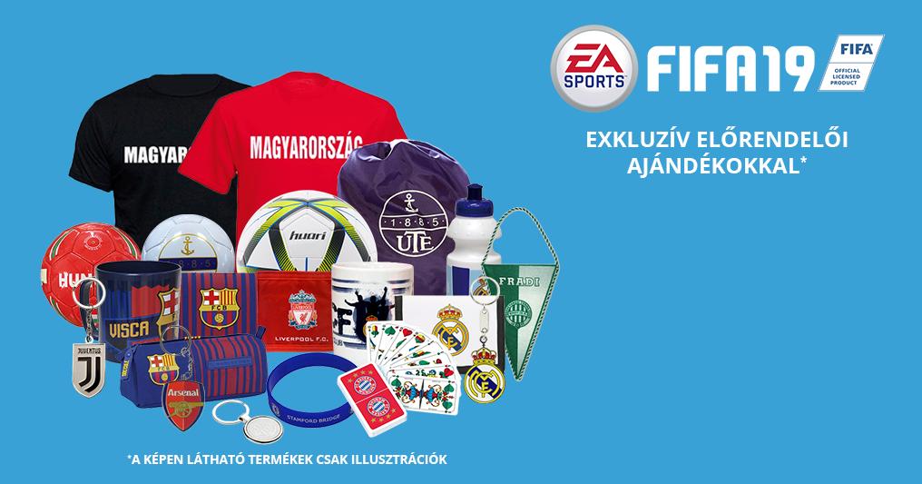FIFA 19 előrendelés exkluzív focis előrendelői ajándékokkal