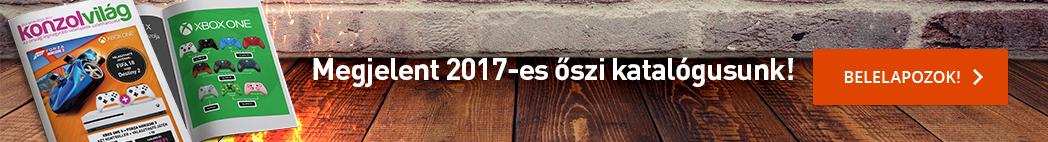 Konzolvilág Katalógus | 2017. ősz