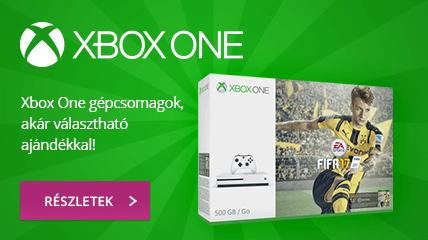 Xbox One Gépcsomagok akár választható ajándékkal!